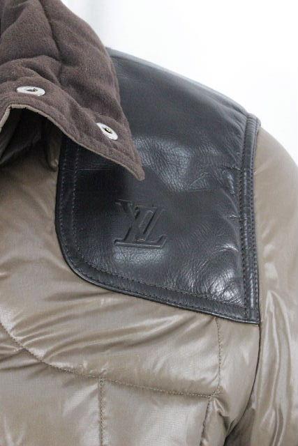 ルイヴィトン[LOUISVUITTON] LV 中綿 ブルゾン ジャンパー SIZE[46] メンズ ヴィトン ビトン ジャンバー アウター