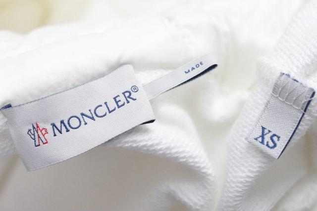 モンクレール [ MONCLER ] ダウン パーカー ホワイト 白 SIZE[XS] レディース トップス アウター ジップアップ パーカ