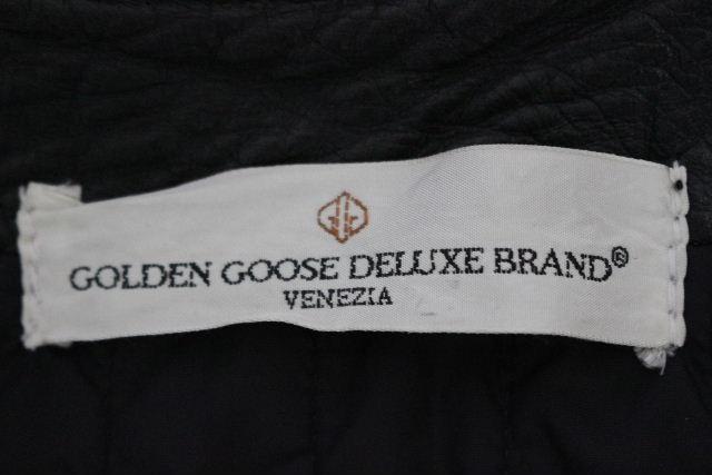 ゴールデングース [ GOLDENGOOSE ] チェック柄 スタジャン レッド 赤 SIZE[S] メンズ アウター ジャンバー ジャンパー ブルゾン