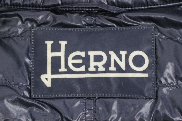 ヘルノ [ HERNO ] ダウンベスト ネイビー 紺色 SIZE[40] レディース ライトダウン アウター ダウンジャケット