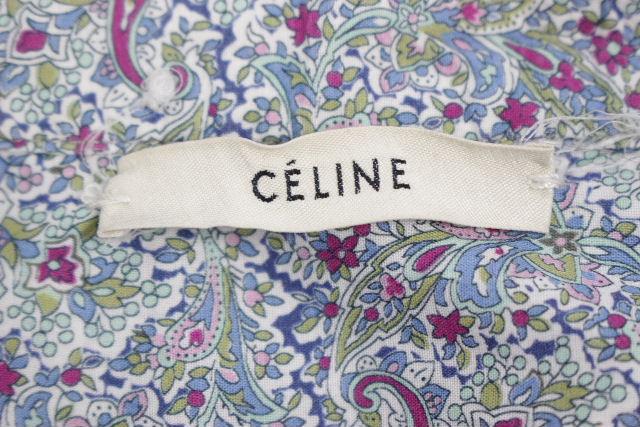 セリーヌ [ CELINE ] シャツ デニム オールインワン SIZE[36] レディース ワンピース ツナギ コンビネゾン つなぎ