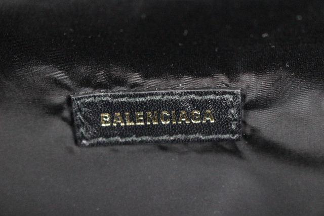 バレンシアガ [ BALENCIAGA ] ナイロン ボディバッグ ブラック 黒 [533009 ] メンズ レディース ボディーバッグ ウエストポーチ ★百貨店購入品 付属品完備★