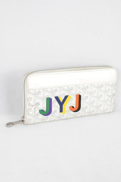 ゴヤール [ GOYARD ] サフィアーノ イニシャル ラウンドファスナー 長財布 レディース メンズ ウォレット JYJ 財布