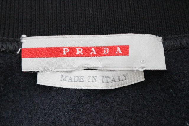 プラダスポーツ [ PRADA ] ジップアップ ジャージ ブラック 黒 SIZE[L] メンズ プラダ アウター トップス カットソー パーカー