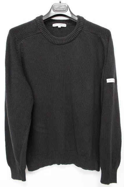 ドルチェ&ガッバーナ [ DOLCE&GABBANA ] サマーニットセーター ブラック 黒 長袖 SIZE[M][ メンズ ドルガバ トップス プルオーバー