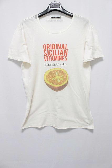 ドルチェ&ガッバーナ [ DOLCE&GABBANA ] フルーツ カットソー 半袖 SIZE[48] メンズ ドルガバ トップス Tシャツ D&G