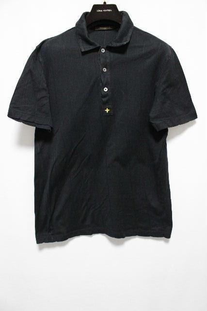 ルイヴィトン [ LOUISVUITTON ] ポロシャツ ブラック 黒 半袖 SIZE[M] メンズ トップス ヴィトン ビトン カットソー Tシャツ