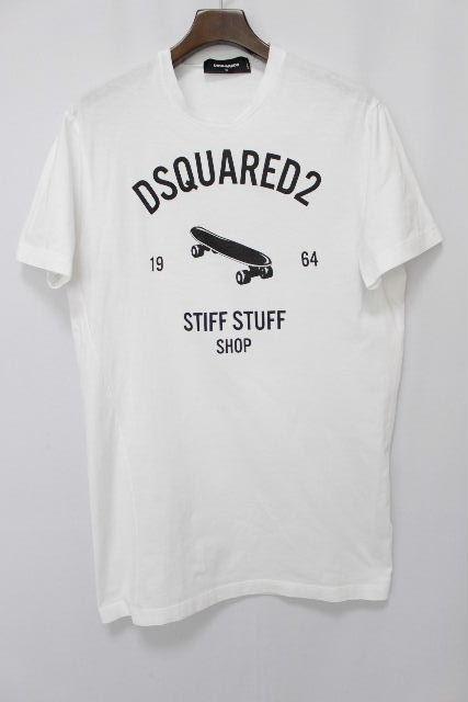 ディースクエアード [ DSQUARED2 ] スケートボード STIFF STUFF Tシャツ 半袖 SIZE[M] メンズ ディースク トップス カットソー