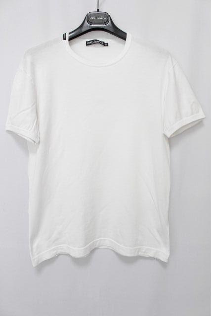 ドルチェ&ガッバーナ [ DOLCE&GABBANA ] ワッペン Tシャツ ホワイト 白 半袖 SIZE[48] メンズ ドルガバ カットソー D&G