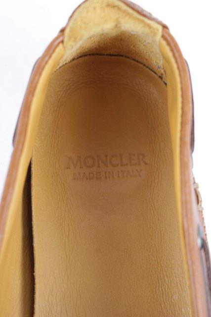 モンクレール [ MONCLER ] キャンパス ワッペン デッキシューズ SIZE[41 26 26.5cm] メンズ スリップオンシューズ スニーカー