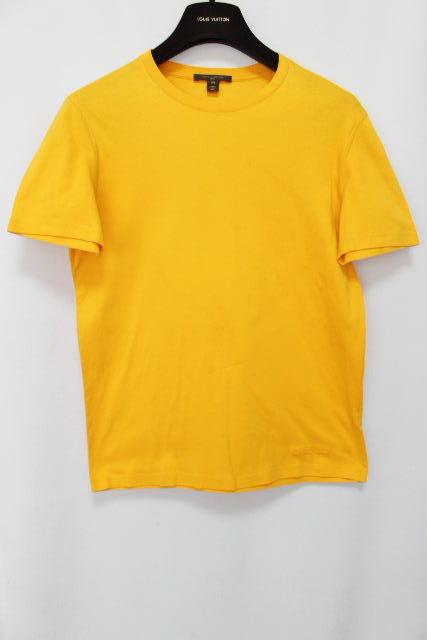 ルイヴィトン [ LOUISVUITTON ] ロゴ Tシャツ イエロー 半袖 SIZE[XS] メンズ ヴィトン ビトン トップス カットソー