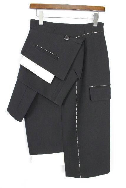 エンフォルド [ ENFOLD ] マーメイドスカート ブラック 黒 SIZE[38] レディース ボトムス デザインスカート