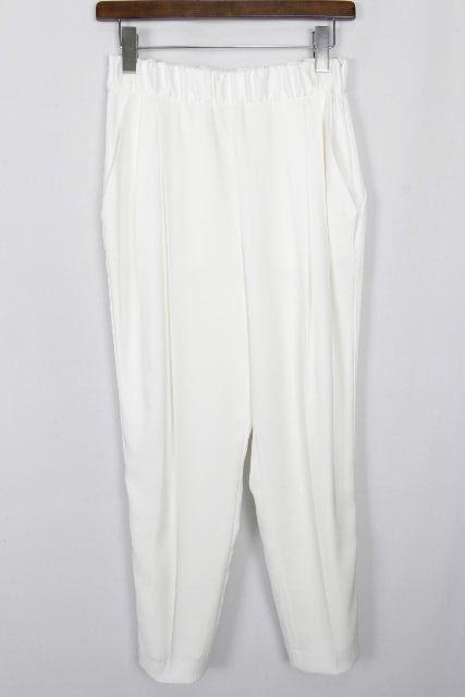 アドーア [ ADORE ] テーパード パンツ ホワイト 白色 SIZE[36] レディース ボトムス ハイウエストパンツ