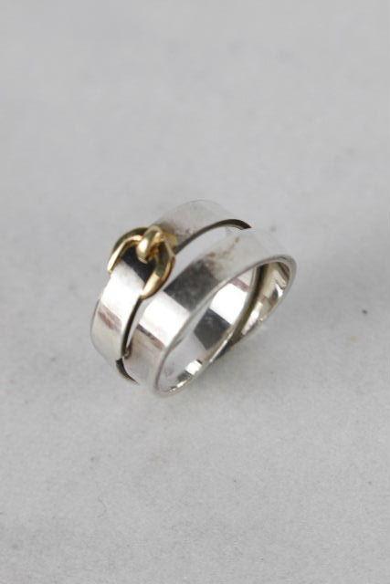 エルメス [ HERMES ] ベルト シルバー リング SIZE[55 14号] レディース アクセサリー K18 小物 指輪
