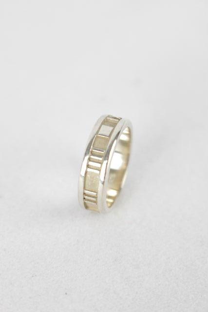 ティファニー [ TIFFANY ] アトラスリング シルバー SIZE[14号] レディース 指輪 付属品完備