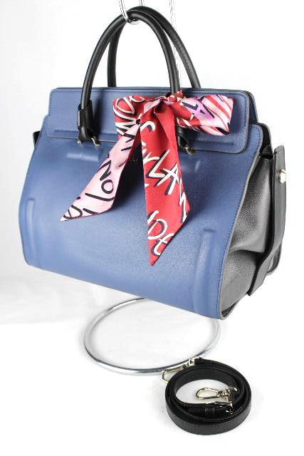 フルラ [ FURLA ] スカーフ付 レザー 2WAY バッグ レディース バイカラー ハンドバッグ ショルダーバッグ