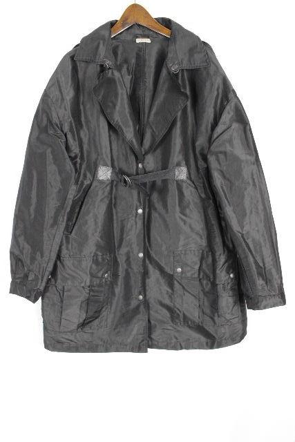 ボッテガヴェネタ [ BOTTEGAVENETA ] イントレ スプリングコート ブラック 黒 SIZE[40] レディース ボッテガ トレンチコート ジャケット