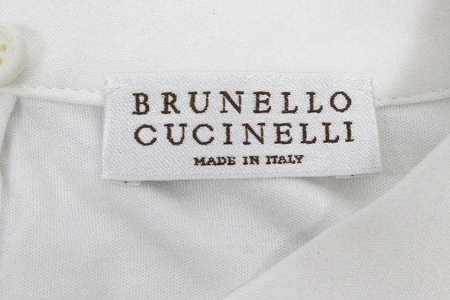 ブルネロクチネリ [ BRUNELLO CUCINELLI ] ノースリーブ カットソー ホワイト 白 SIZE[XS] レディース クチネリ トップス ノースリ Tシャツ
