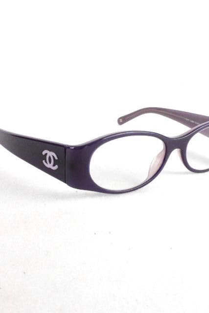 シャネル [ CHANEL ] CC×カメリア 眼鏡フレーム パープル 紫 [ 3101 886 51 16 135] レディース めがね メガネ