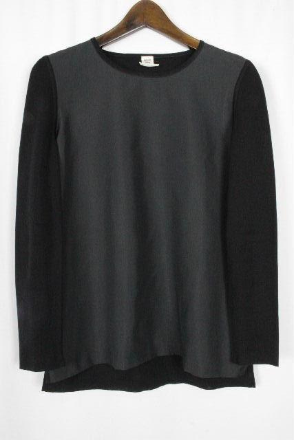 エルメス [ HERMES ] ニット ブラウス ブラック 黒 長袖 SIZE[36] レディース トップス カットソー