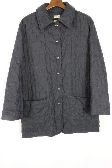エルメス [ HERMES ] マルジェラ期 中綿 ダウン コート ネイビー 紺色 SIZE[36] レディース アウター ジャケット