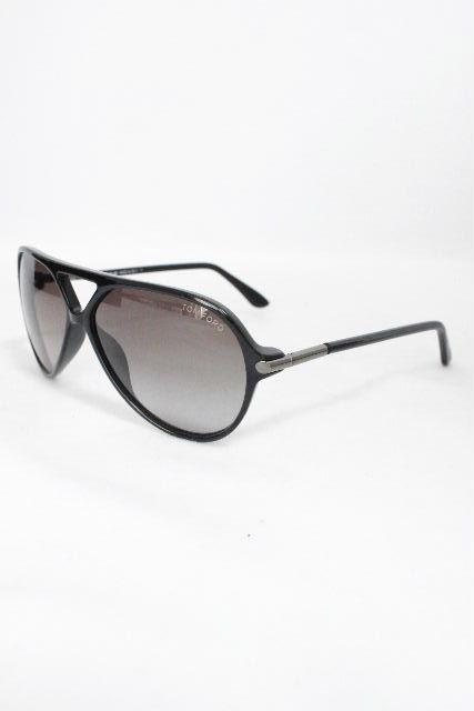 トムフォード [TOM FORD] ティアドロップ サングラス ブラック 黒 Leopold [ F197 ] メンズ レディース ブラック 黒