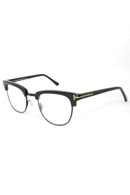 トムフォード [TOM FORD] 眼鏡フレーム ブラック 黒 [ TF0483F 001 48 21 145 ] メンズ レディース サーモント型 ブロータイプ メガネ めがね