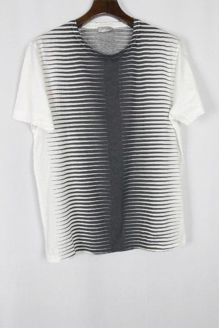 バレンシアガ [ BALENCIAGA ] デザイン Tシャツ ホワイト 白 半袖 SIZE[M] メンズ トップス カットソー