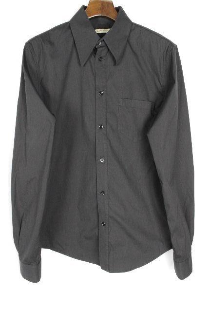 バレンシアガ [ BALENCIAGA ] ストレッチ カジュアル シャツ ブラック 黒 長袖 SIZE[M] メンズ トップス