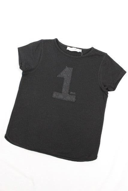 クリスチャンディオール [ ChristianDior ] NO1 レディディオール カットソー ブラック 半袖 SIZE[12A] キッズ 子供用 女の子 ディオール Tシャツ 150