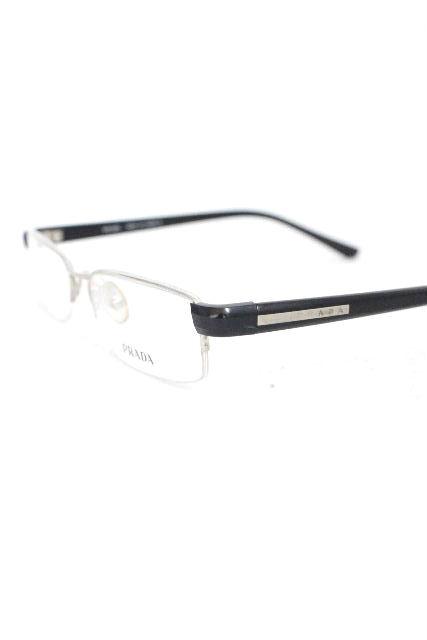 プラダ [ PRADA ] ロゴプレート 眼鏡フレーム ブラック 黒 SIZE[ VPR 52E ] メンズ レディース めがね メガネ