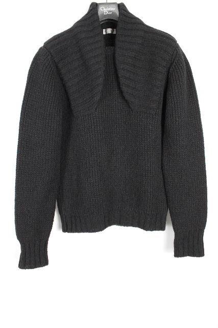 ディオールオム [ Dior Homme ] ニット セーター ブラック 黒 長袖 SIZE[S] メンズ ディオール トップス