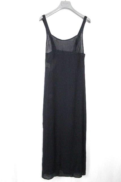 プラダ [ PRADA ] キャミソール ロング ワンピース ブラック 黒 SIZE[42] レディース ワンピ