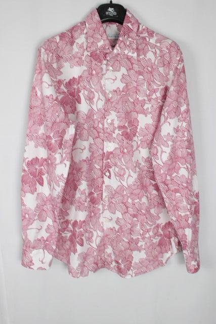 エトロ [ ETRO ] フラワー カジュアル シャツ 長袖 SIZE[43] メンズ トップス 花柄 シャツ