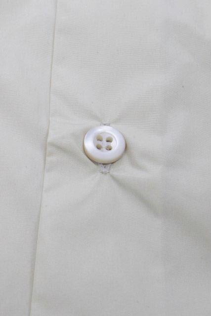 プラダ [ PRADA ] ナイロン シャツ ジャケット イエロー 長袖 SIZE[41/16] メンズ トップス