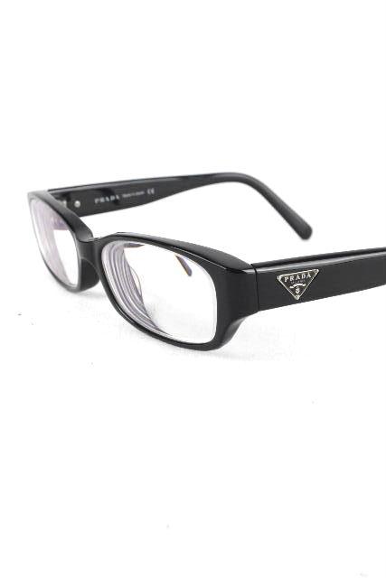 プラダ [ PRADA ] 三角プレート 眼鏡フレーム ブラック 黒 [ VPR19M 53 16 140] メンズ レディース メガネ めがね 眼鏡