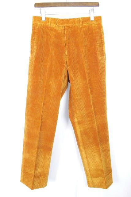 エルメス [ HERMES ] コーデュロイパンツ オレンジ SIZE[50] メンズ ボトムス カジュアルパンツ