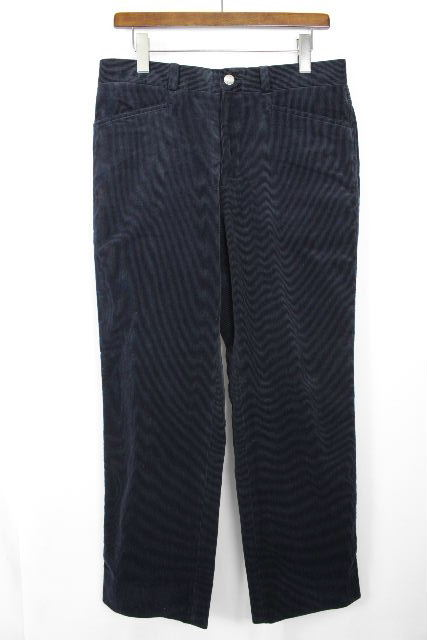 エルメス [ HERMES ] セリエ コーデュロイパンツ ネイビー 紺色 SIZE[42] メンズ ボトムス カジュアルパンツ