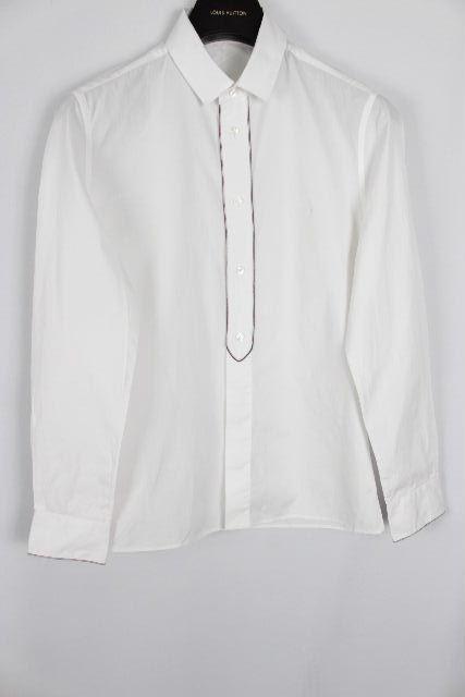 ルイヴィトン [ LOUISVUITTON ] カジュアルシャツ ホワイト 白 長袖 SIZE[S] メンズ ヴィトン ビトン トップス シャツ