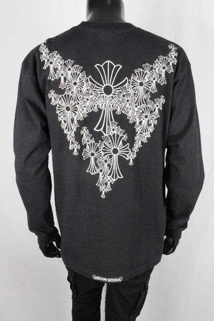 クロムハーツ [ CHROME HEARTS ] ダガー ポケット ロンT ブラック 黒 SIZE[L] メンズ クロム トップス ロングTシャツ 長袖 カットソー Tシャツ