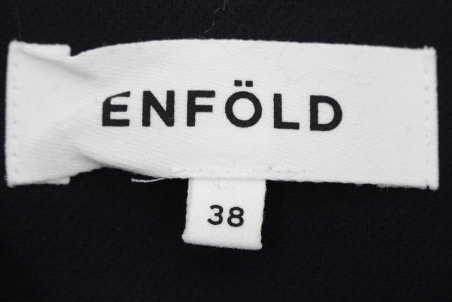 エンフォルド [ ENFOLD ] プルオーバー ブラック 黒 SIZE[38] レディース トップス カットソー チュニック