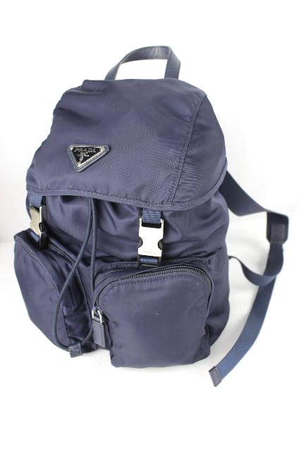プラダ [ PRADA ] ナイロン リュックサック ネイビー 紺色 レディース ショルダーバッグ バックパック