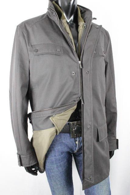 フェラガモ [ Ferragamo ] 2WAY 中綿ライナーダウン コート WINTERPROOF SIZE[52] メンズ ジャケット ベスト ブルゾン ジャンパー ジャンバー