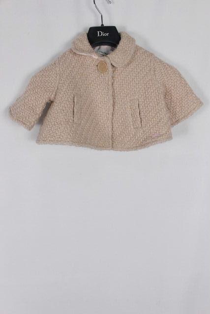 クリスチャンディオール [ ChristianDior ] ウール ジャケット ピンク SIZE[2A] レディース キッズ 女の子 ベイビー ディオール コート