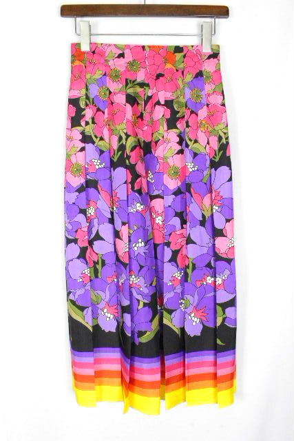 グッチ [ GUCCI ] 2018ss フラワー ロングスカート SIZE[36] レディース プリーツスカート スカート 花柄