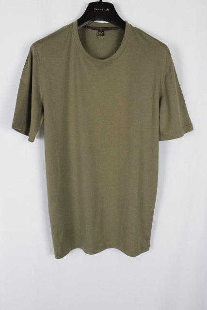 ルイヴィトン [ LOUISVUITTON ] ダミエ Tシャツ カーキ 半袖 SIZE[M] メンズ ヴィトン ビトン カットソー