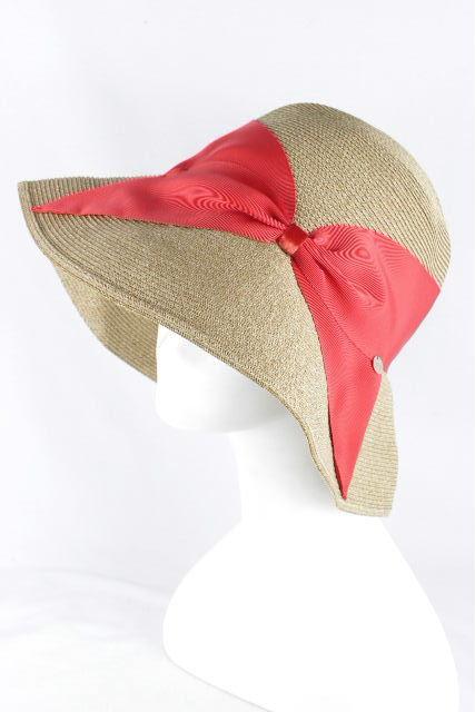 アシーナニューヨーク [ Athena New York ] リボン 麦わら帽子 リサコ Risako レディース アシーナ ハット 帽子