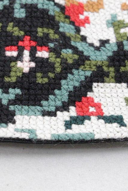 ドルチェ&ガッバーナ [ DOLCE&GABBANA ] モザイク刺繍 フレアースカート ブラック 黒 SIZE[36] レディース ドルガバ ウールスカート