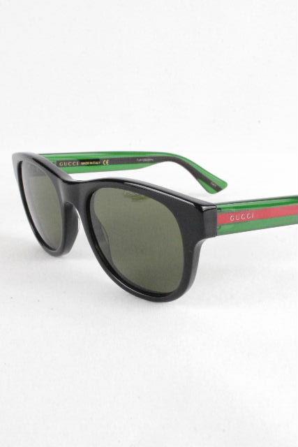 グッチ [ GUCCI ] シェリーライン サングラス ブラック 黒 [GG0003S] メンズ レディース めがね メガネ 眼鏡 Optyl