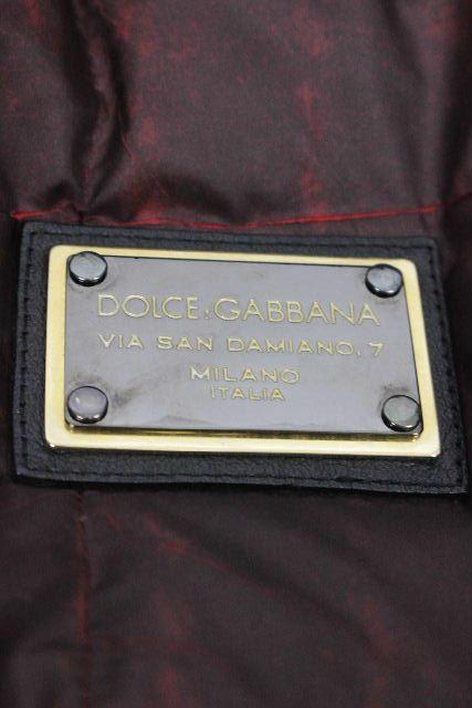 ドルチェ&ガッバーナ [ DOLCE&GABBANA ] プレート リバーシブル 中綿ダウンジャケット SIZE[46] メンズ ドルガバ ダウンジャケット ブルゾン ジャンパー ジャンバー